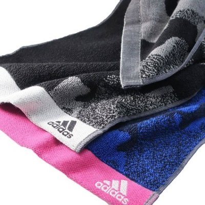 アディダス adidas スポーツブランド マフラータオル ジャガード スリムロングタオル クロノス グッズ