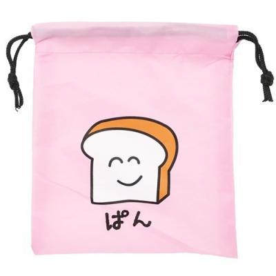 巾着袋 18×20.5cm 小物入れ ぱんさん プチギフト グッズ オクタニコーポレーション