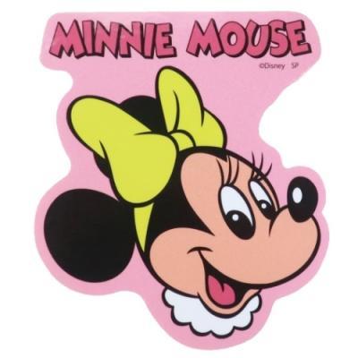 ミニーマウス ステッカー ダイカット ビニール ステッカー フェイス ディズニー スモールプラネット デコシール 防水