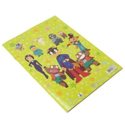かいけつゾロリ たのしいあそび ぬりえ 塗り絵ノート NHK サンスター文具