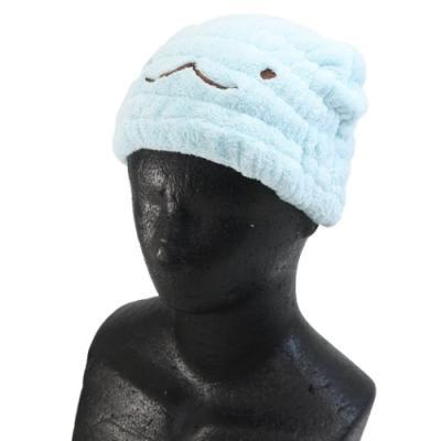 タオルキャップ すみっコぐらし ヘアドライタオル帽子 サンエックス とかげ お風呂上り 海 プール サマーレジャー用品 キャラクター