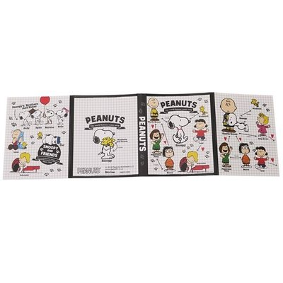 スヌーピー BOOK型 ふせん セット プロフィール ピーナッツ 付箋 キャラクター グッズ デルフィーノ 文具