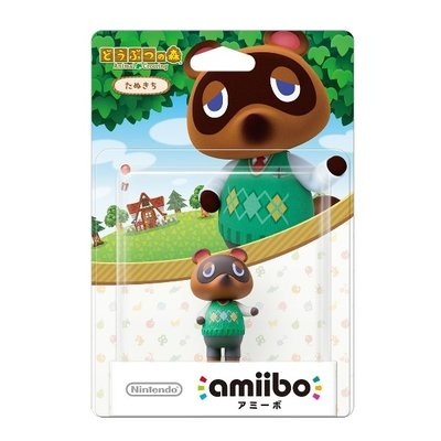 amiibo たぬきち どうぶつの森シリーズの商品画像