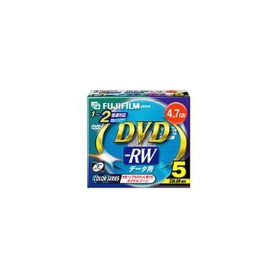 データ用DVD-RW 2倍速 5枚 DDRW47CX5 M 2Xの商品画像