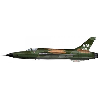 F-105 サンダーチーフ 第354戦術戦闘航空隊 (1/72スケール HA2514)の商品画像