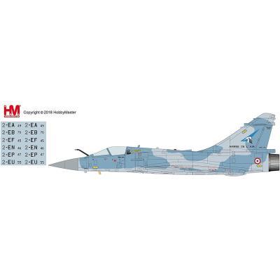 ミラージュ2000-5F `フランス空軍 第1戦闘飛行隊 シゴーニュ` (完成品飛行機) (1/72スケール HA1614)の商品画像