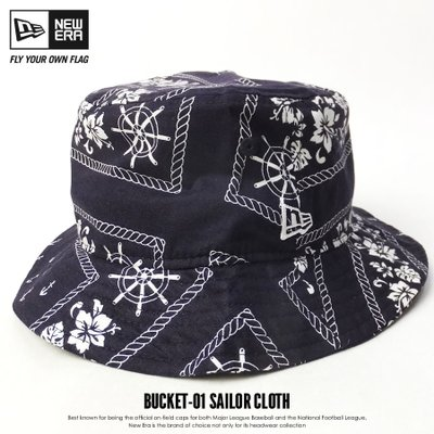 NEW ERA BUCKET-01 SAILOR CLOTH