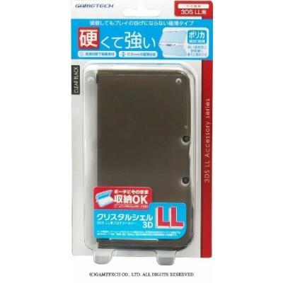 3DS クリスタルシェル3DLL クリアブラックの商品画像