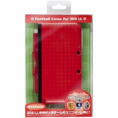 CYBER・フットボールカバー (3DS LL用) レッドの商品画像