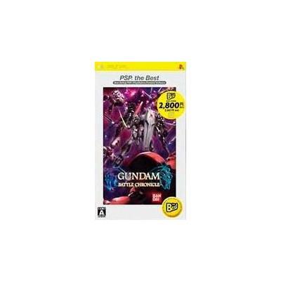 【PSP】 ガンダムバトルクロニクル [PSP the Best]の商品画像