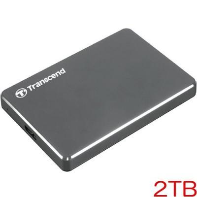 TS2TSJ25C3N [ポータブルHDD StoreJet 25C3N 2TB アイアングレー]の商品画像