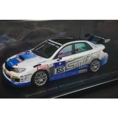 SUBARU WRX STI Nurburgring 24-hour Race 2011 No.155 (ホワイト) (1/43スケール レーシング 44988)の商品画像