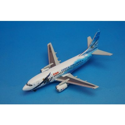 B737-500 CSAチェコ航空 「80周年記念モデル」 (1/400スケール 560979)の商品画像