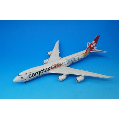747-8F カーゴルクス 45周年記念塗装 LX-VCM (1/200スケール 558228)の商品画像