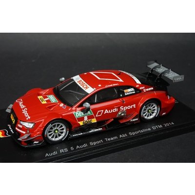 Audi RS 5 No.8 Audi Sport Team Abt Sportsline MiGuel Molina (1/43スケール SG173)の商品画像