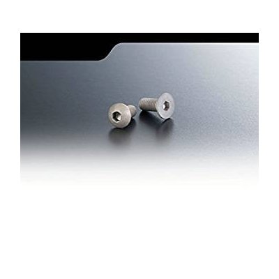 Matte Alu Screw (Flat Head 3mm x 8mm 10pic) NA-F3-082の商品画像