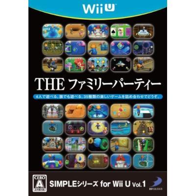 【Wii U】 SIMPLEシリーズ for Wii U Vol.1 THE ファミリーパーティーの商品画像