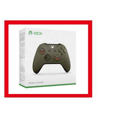 Xbox One ワイヤレスコントローラー グリーン/ オレンジの商品画像