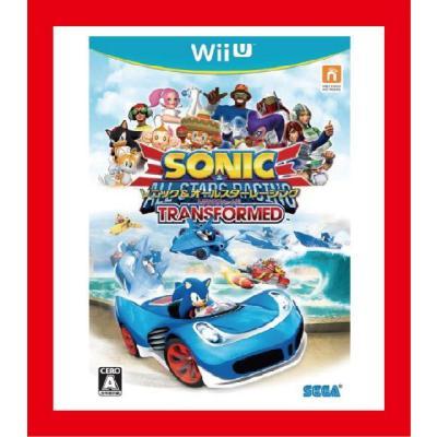 【Wii U】 ソニック&オールスターレーシング TRANSFORMEDの商品画像