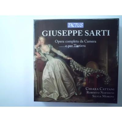クラシック/サルティ、ジュゼッペ (1729-1802) 室内楽、鍵盤作品 ...