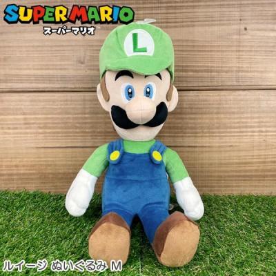 スーパーマリオ オールスターコレクション ぬいぐるみ M (ルイージ) AC18の商品画像