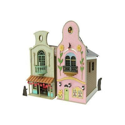 さんけい みにちゅあーとキット(1/150)千と千尋の神隠し 不思議の町-3 MK07-06の商品画像