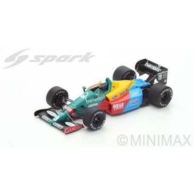 Benetton B188 No.19 3rd British GP 1988 Alessandro Nannini (1/43スケール S5201)の商品画像