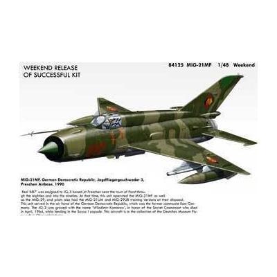 ミグ MiG-21 MF フィッシュベッドJ (1/48スケール ウィークエンド EDU84125)の商品画像