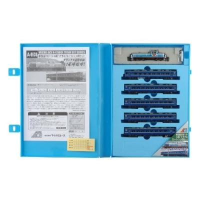 MICROACE 樽見鉄道TDE11-3号機+14系客車 「うすずみブルーライン」6両セット A8638の商品画像