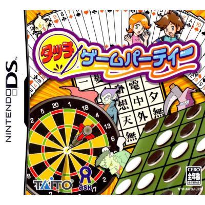 【DS】 タッチゲームパーティーの商品画像