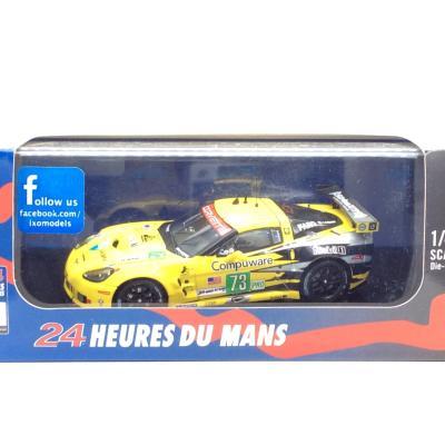 シボレー コルベット C6 ZR1 2011年ル・マン24時間 GTE 優勝 #73 O.BERETA - T.MILNER - A.GARCIA (1/43スケール LMM219)の商品画像