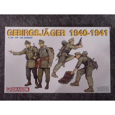 ドイツ 山岳兵 1940-1941 (1/35スケール 39-45 SERIES 6345)の商品画像