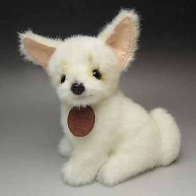 グレイスフル 犬 ぬいぐるみ 座り(スムースチワワ クリーム) 014412の商品画像