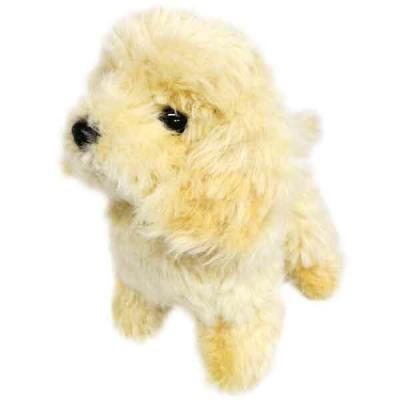 グレイスフル 犬 ぬいぐるみ 立ち S(トイプードル クリーム) 014634の商品画像