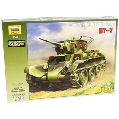 BT-7 ソビエト軽戦車 (1/35スケール ZV3545)の商品画像