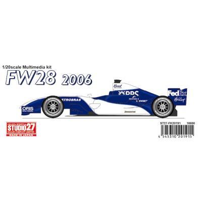 ウィリアムズ FW28 06 (1/20スケール ST27-FK20191)の商品画像
