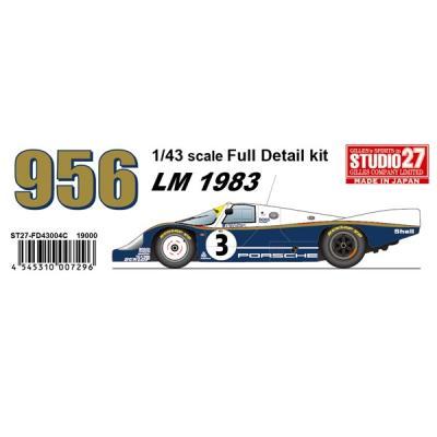 Porsche956 LM1983 (Long tail) (1/43スケール ST27-FD43004C)の商品画像