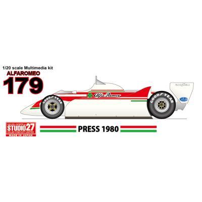 Alfa Romeo 179 Press 1980 (1/20スケール ST27-FK20316)の商品画像