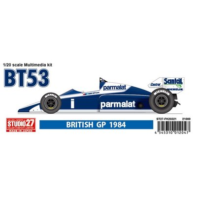 BT5 British GP 1984 (1/20スケール ガレージキット ST27-FK20321)の商品画像