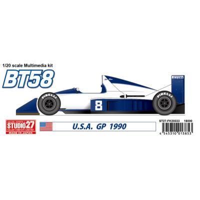 BT58 JAPANESE GP 1989 (1/20スケール ガレージキット ST27-FK20332)の商品画像