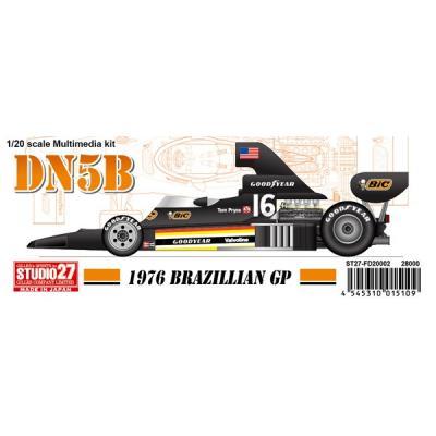 DN5B Brazil 1976 (レジン・メタルキット) (1/20スケール マルチメディアキット ST27-FD20002)の商品画像