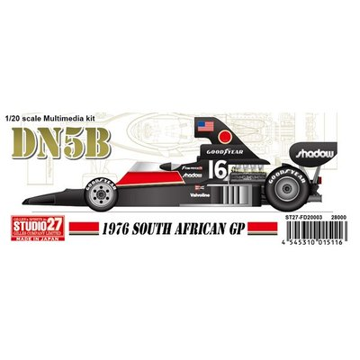DN5B South African 1976 (レジン・メタルキット) (1/20スケール マルチメディアキット ST27-FD20003)の商品画像