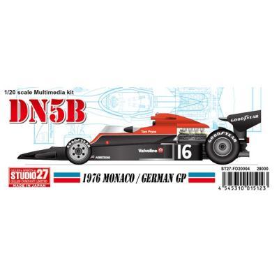 DN5B Monaco/ Germany 1976 (レジン・メタルキット) (1/20スケール マルチメディアキット ST27-FD20004)の商品画像
