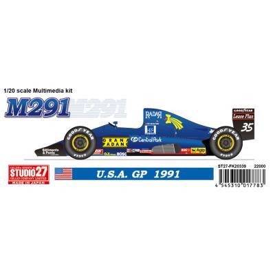 M291 U.S.A. GP 1991 (1/20スケール ST27-FK20339)の商品画像