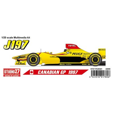 J197 Canadian GP 1997 (1/20スケール ST27-FK20341)の商品画像