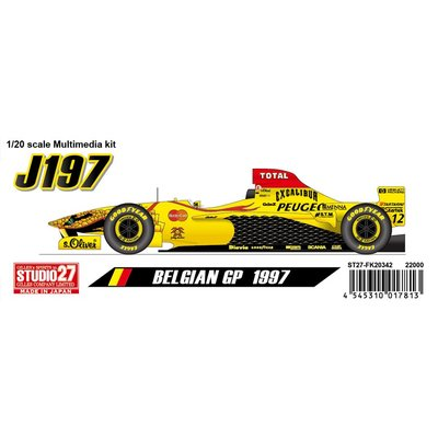 J197 Belgian GP 1997 (1/20スケール ST27-FK20342)の商品画像