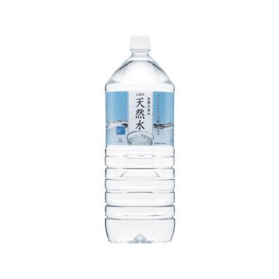 お茶屋さんが選んだ水 天然水 2L × 1本 ペットボトルの商品画像