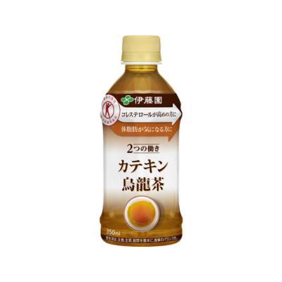 伊藤園 2つの働き カテキン烏龍茶 350ml × 1本 ペットボトルの商品画像