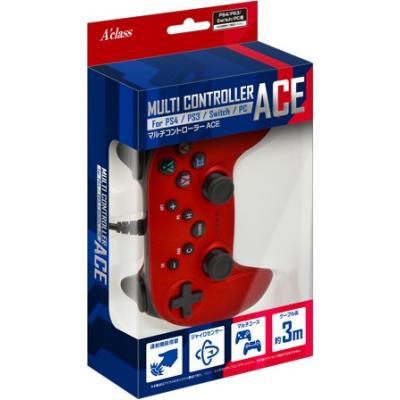 マルチコントローラーAce メタルレッド SASP-0523の商品画像