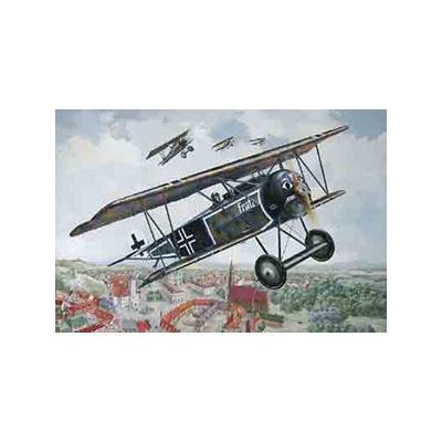 ドイツ フォッカー D.VI 複葉戦闘機WW-I (1/32スケール 032T603)の商品画像